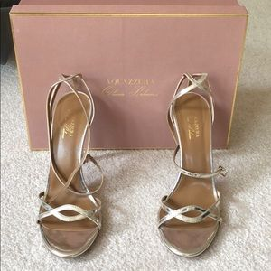 Aquazzura x Olivia Palermo Strap Sandals